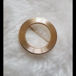 Vintage Signed MONET Brooch Pin